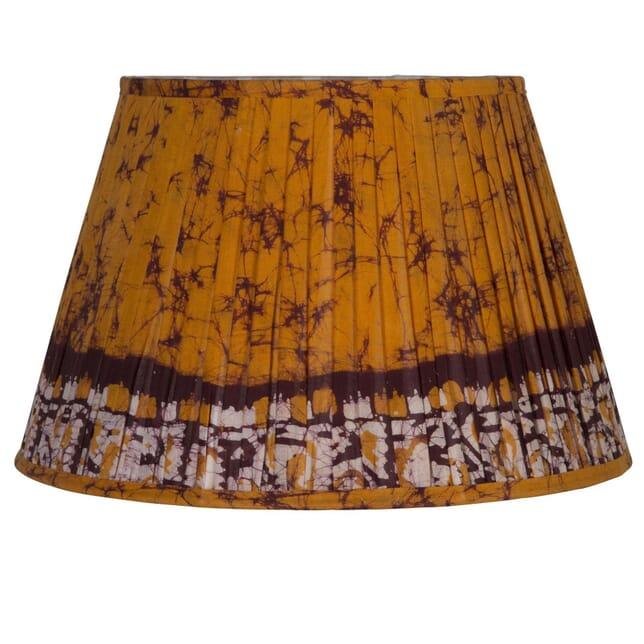45cm Orange Silk Lampshade LS6659422