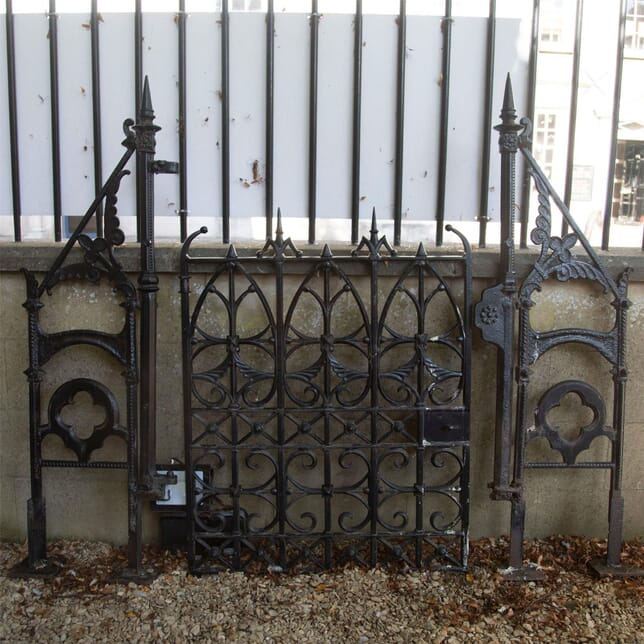 Set of 19th Century Cast Iron Gates GA427622