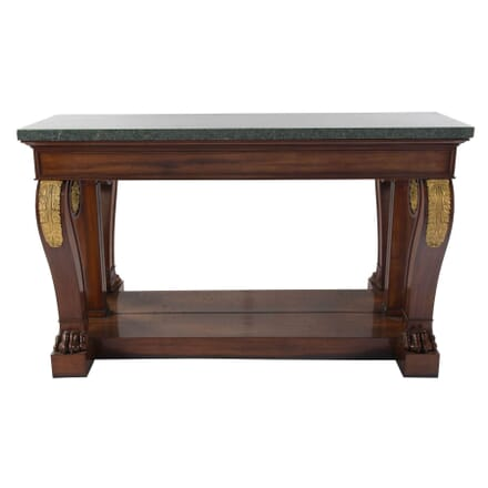 French Mahogany Console CO3953855