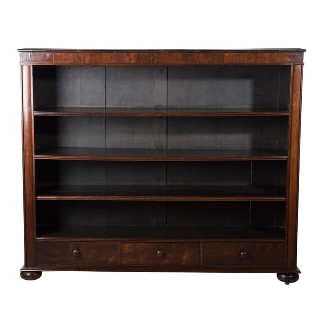19th Century William IV Rosewood Open Bookcase BK9958161