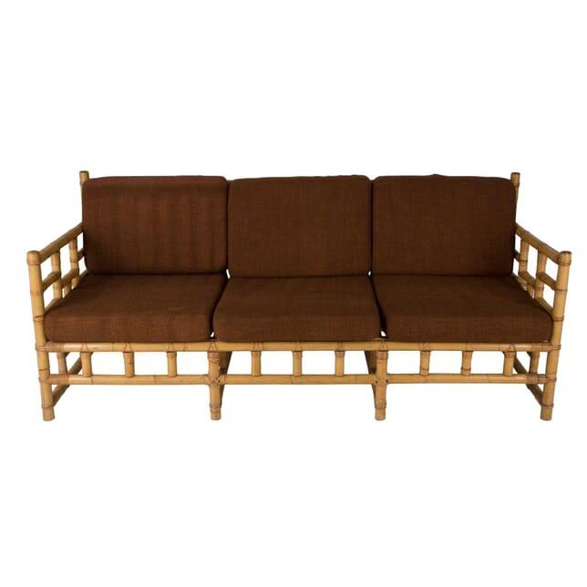1960s French Cane Sofa SB0659381