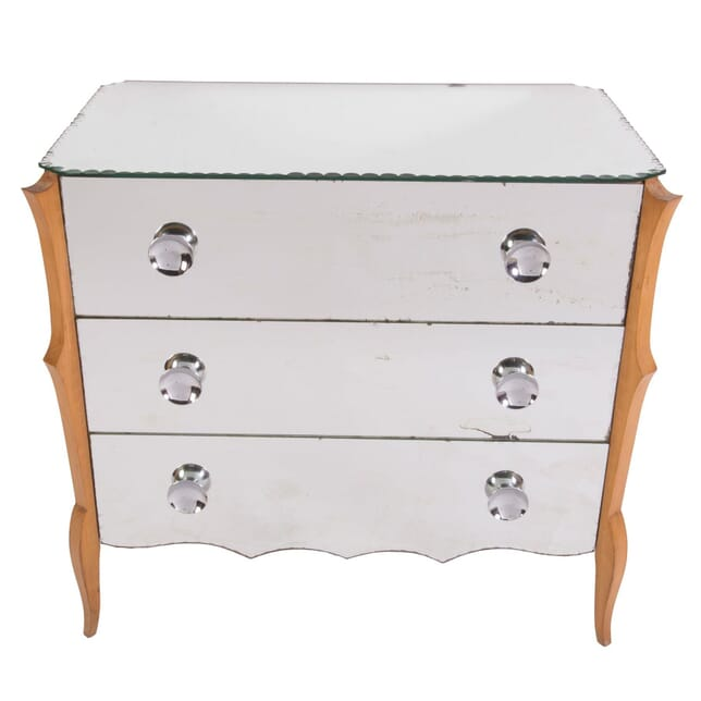 20th Century French Mirrored Chest CC0158408