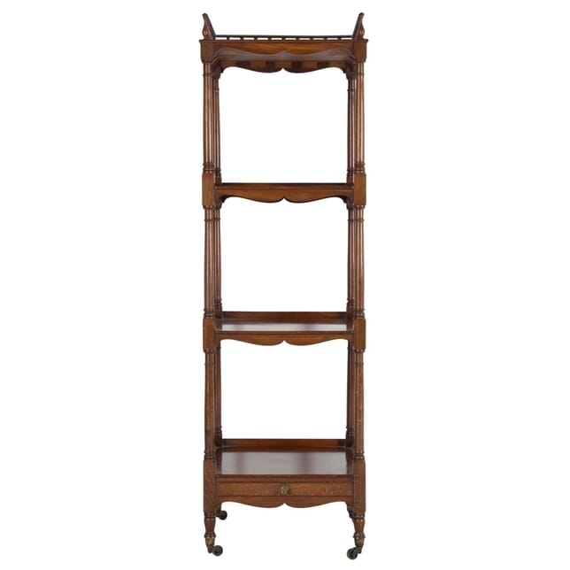 19th Century Mahogany Four Tier Etagere BK999205