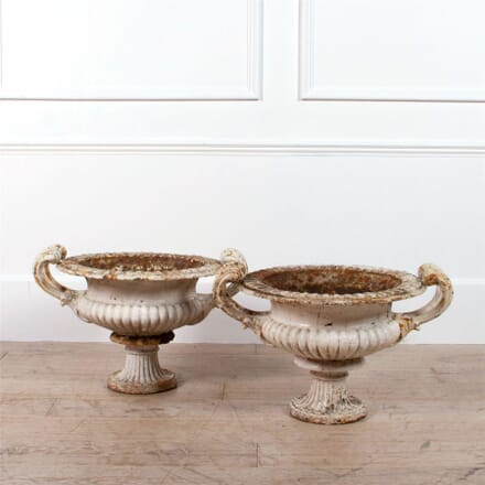 Rare Pair Of Coalbrookdale 'Naples' Garden Urns GA0961988