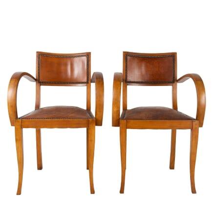 Pair of 1930's Bridge Chairs CH1560386
