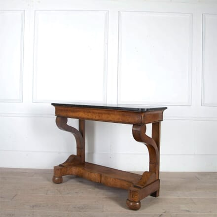 Provincial French Walnut Console Table CO0161200