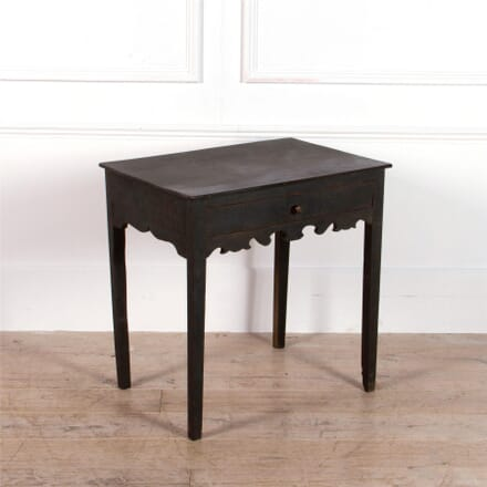 English Painted Side Table TC0462198
