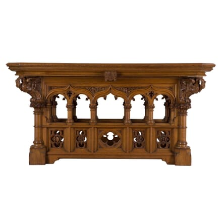 Gothic Revival Altar Table TC105623