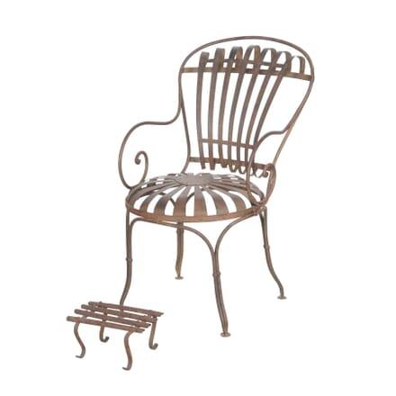 French 19th Century Garden Chair GA4455805