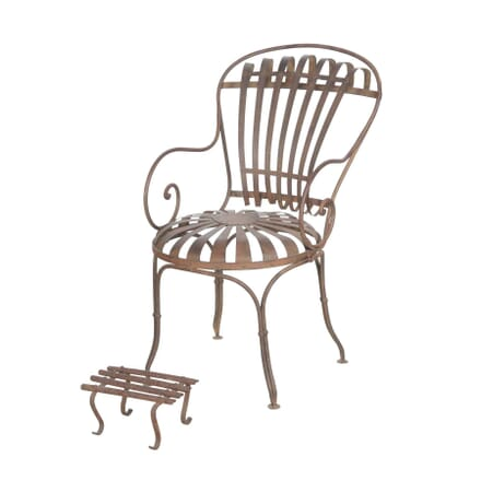 French 19th Century Garden Chair GA4455805