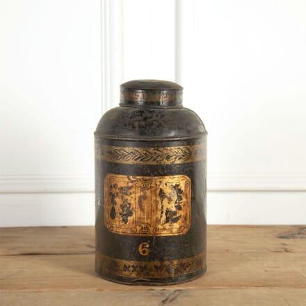 19th Century Toleware Tea Tin DA9061300