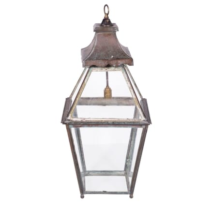 19th Century Copper Lantern LL2358682