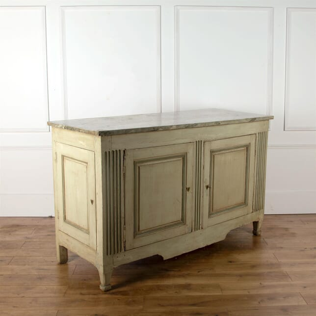 Large French Painted 18th Century Buffet BU4562674