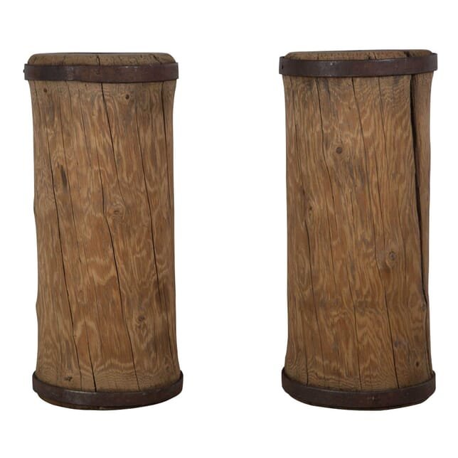 Pair of 19th Century Wooden Rollers DA235200