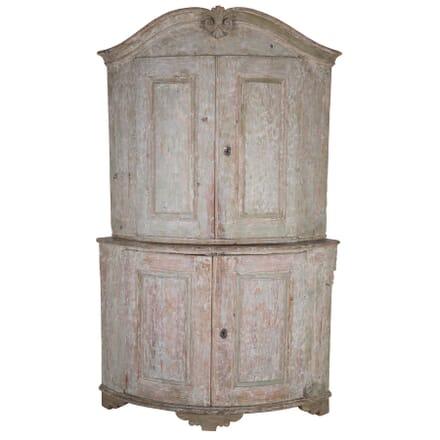 Rococo Swedish Corner Cabinet CU6060034