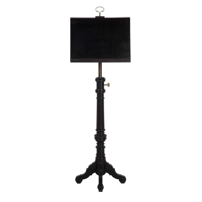 Ebonised Duet Music Stand OF9913350