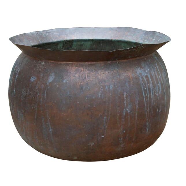 19th Century Copper Onion Shaped Planter GA4261040