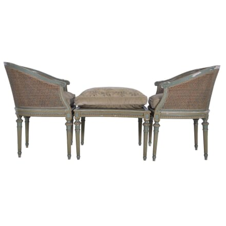 Three Piece 1920s Duchesse Brissee Day Bed SB5360020