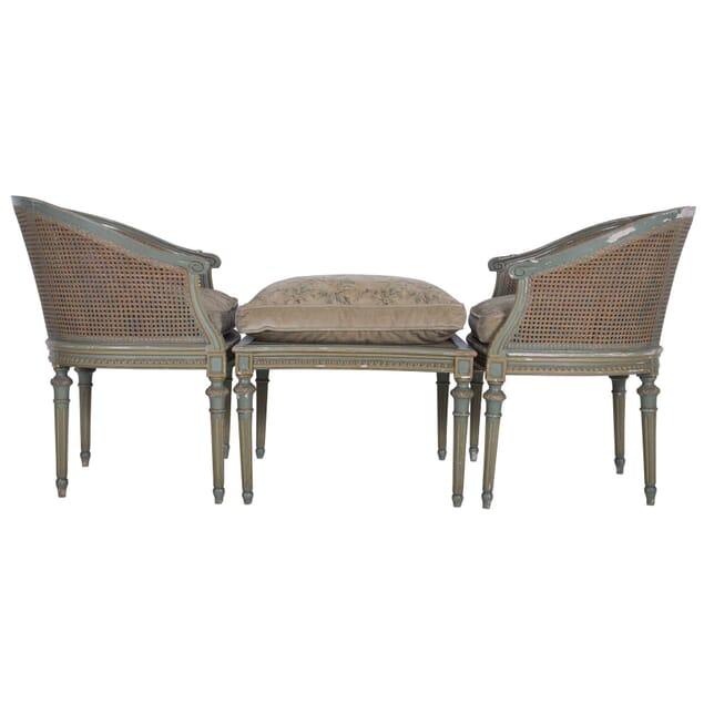 Three Piece 1920s Duchesse Brissee Day Bed SB5360020