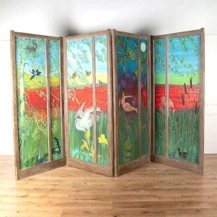 Painted Pine Room Divider OF6261244