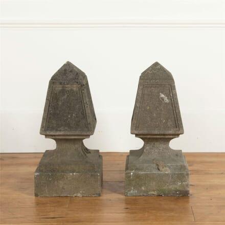 Pair of Stone Obelisks DA737093