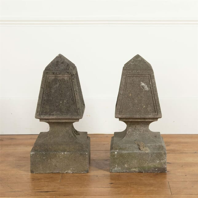 Pair of Stone Obelisks DA737093