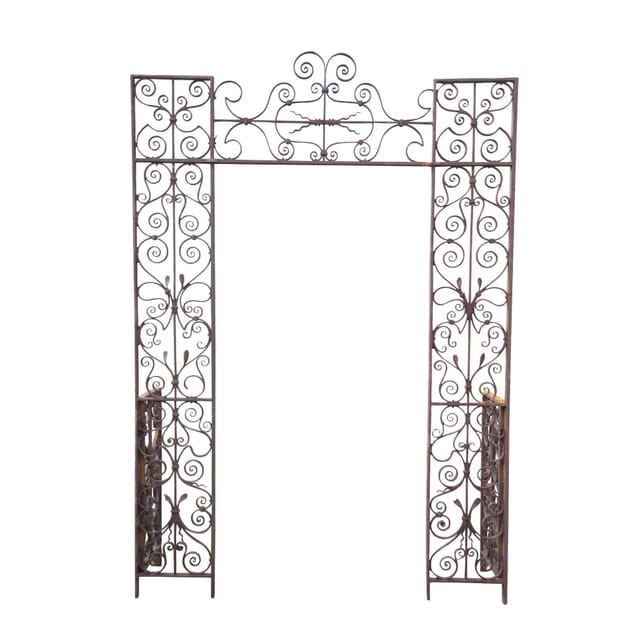 18th Century Ironwork Rose Arch GA4255375