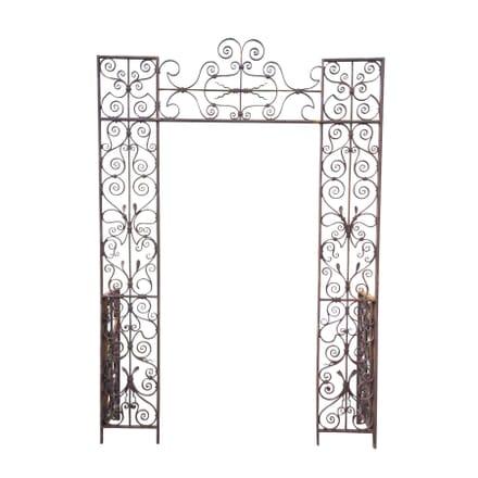 18th Century Ironwork Rose Arch GA4255375