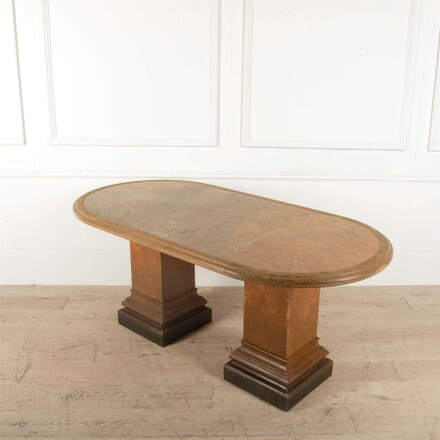 Art Deco Style Table with Marble Top TC1561223