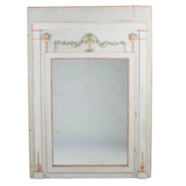 19th Century Chateau Panel Mirror MI0113436