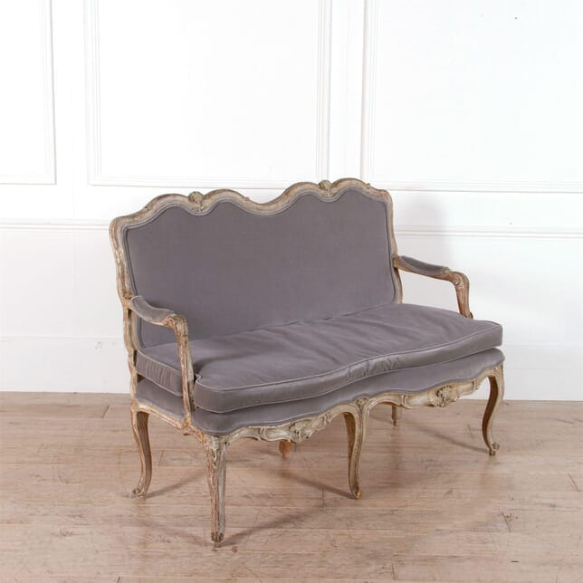 19th Century French Upholstered Canapé Sofa SB7462321