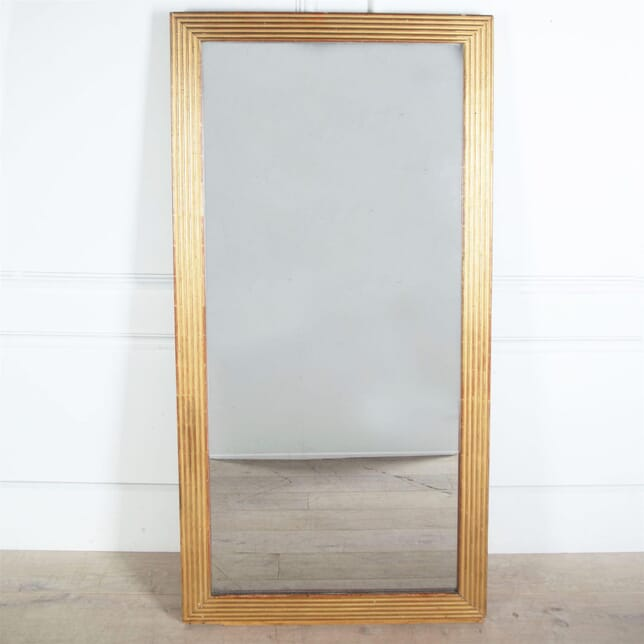 Large French Empire Period Reeded Mirror MI3960600