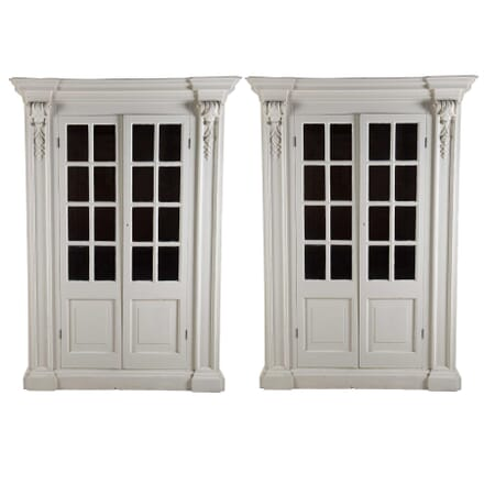 Pair of Painted Cabinets BK2754078