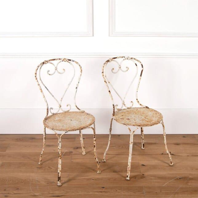 French Iron Garden Chairs GA7161162