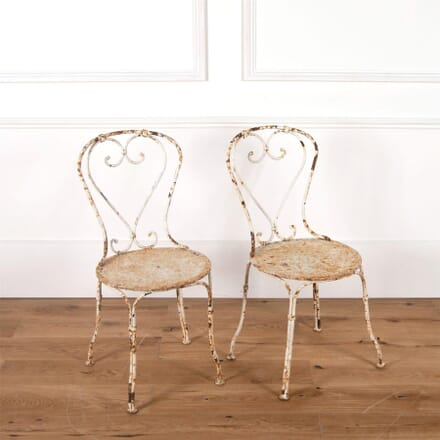 French Iron Garden Chairs GA7161162
