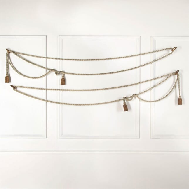Decorative Metal Rope Twist Design Pelmets DA6061442