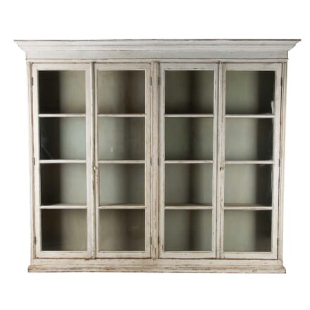 Large Painted Display Cabinet BK0160439