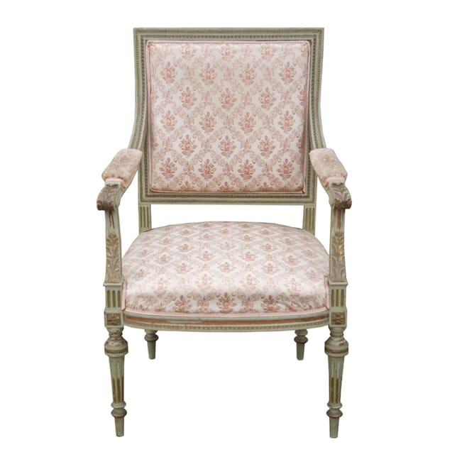 French Louis XVI Revival Armchair CH9955540