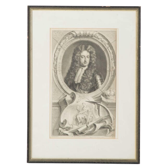 18th Century Portrait of the Prince of Denmark WD0111541