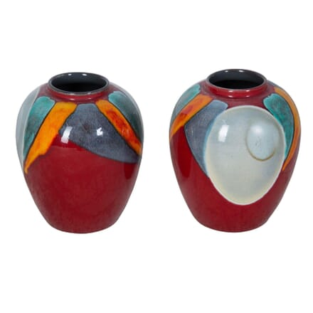 Pair of Poole Pottery Vases DA2853538