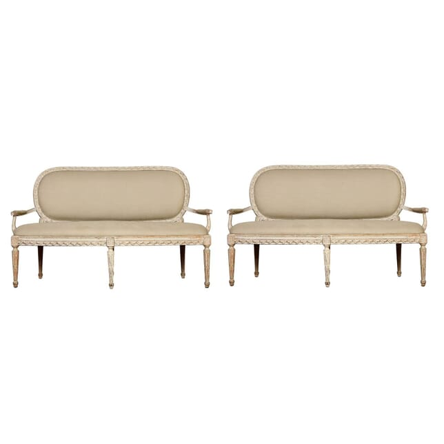 Pair of Swedish Sofas SB135258