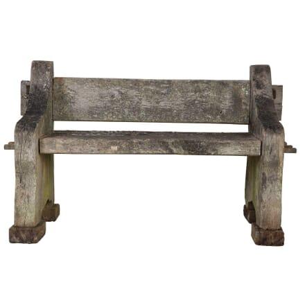 Small Oak Bench GA0512247