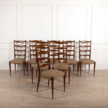 Eight Dining Chairs by Paolo Buffa CD4861832