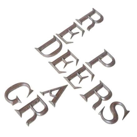 Cast Bronze Letters DA4011970
