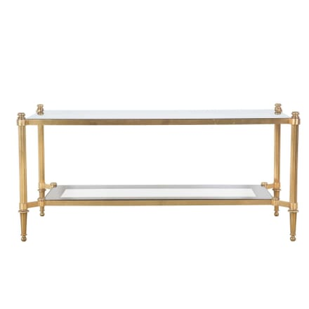 Brass and Glass Coffee Table CT5255934