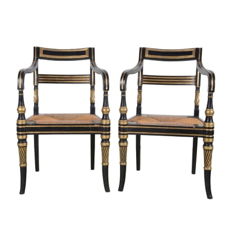 Pair of Regency Chairs CH9955506