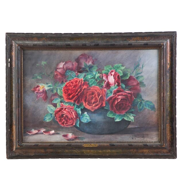 19th Century French Flower Painting WD026239