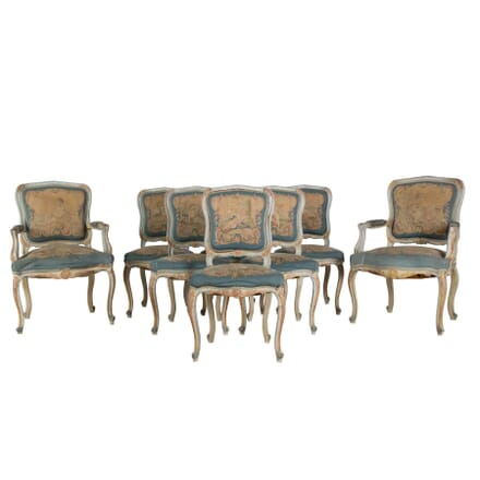 Set of Eight Dining Chairs CH355079