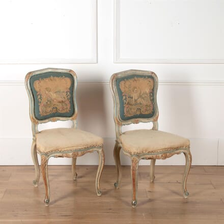 Pair of French Carved Chairs CH3562448