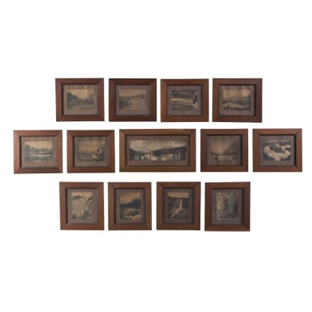 Set of 13 Framed Photo Prints WD0555872